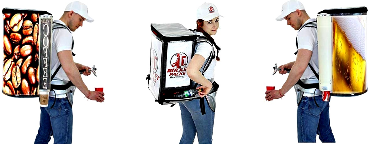 drink dispenser backpack for different kind of beverage